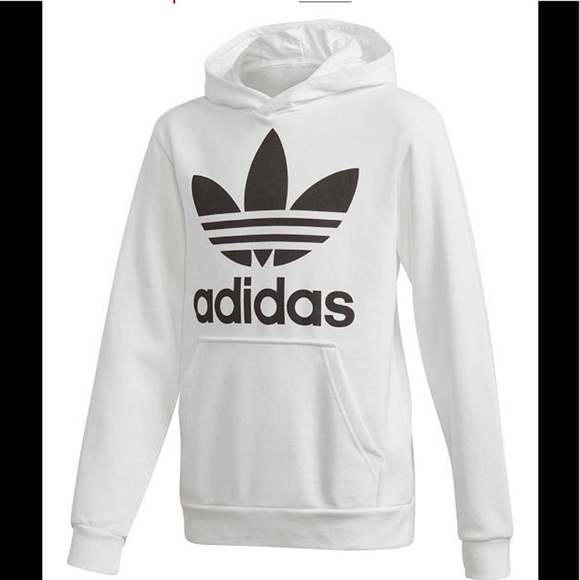 fc86f9209 adidas Jackets & Coats | Originals Trefoil Hoodie | Poshmark